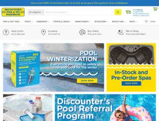 discounterspoolandspa.com screenshot
