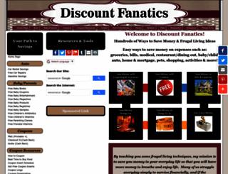 discountfanatics.com screenshot