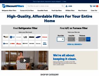 discountfilters.com screenshot