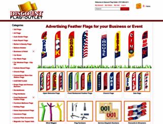 discountflagoutlet.com screenshot