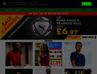 discountfootballkits.co.uk screenshot