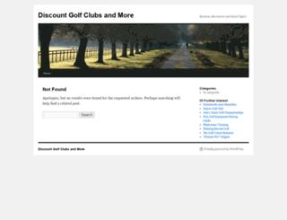 discountgolfclubs100.com screenshot
