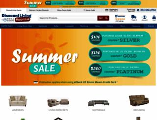 discountlivingrooms.com screenshot