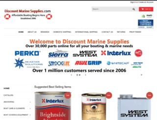 discountmarinesupplies.com screenshot