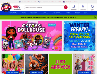 discountpartysupplies.com.au screenshot