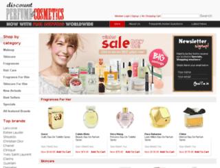 discountperfumecosmetics.com screenshot