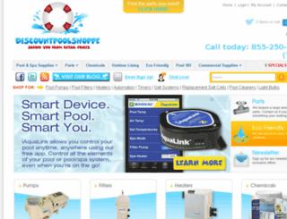 discountpoolshoppe.com screenshot