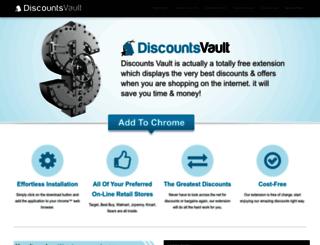 discounts-vault.com screenshot