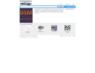 discountservicemanuals.ecrater.com screenshot