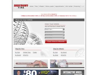 discounttires.com screenshot