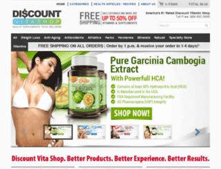 discountvitashop.com screenshot
