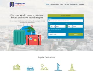 discountworldhotel.com screenshot