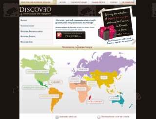 discoveo.fr screenshot