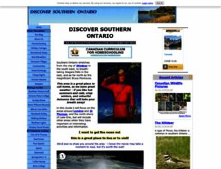 discover-southern-ontario.com screenshot