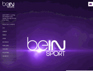 discover.beinsports.net screenshot