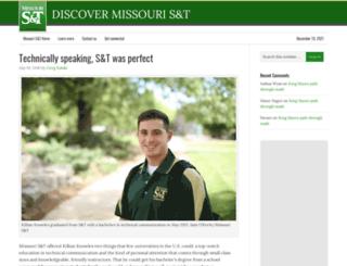 discover.mst.edu screenshot