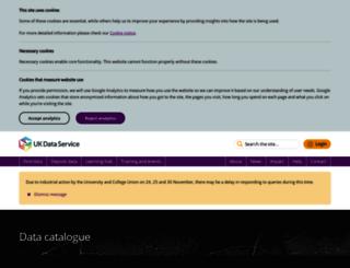 discover.ukdataservice.ac.uk screenshot