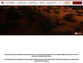 discoverafrica.com screenshot