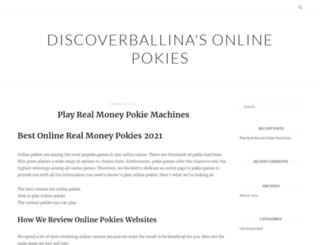 discoverballina.com screenshot