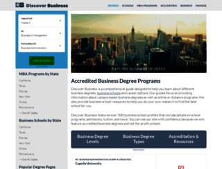 discoverbusiness.us screenshot