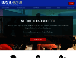discoverdesign.org screenshot