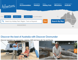 discoverdownunder.com.au screenshot