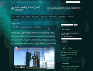 discoverinfinity.wordpress.com screenshot