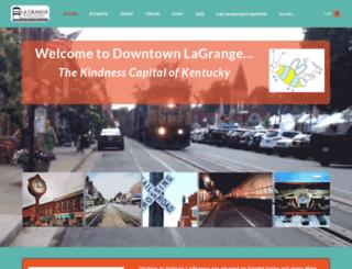 discoverlagrange.org screenshot