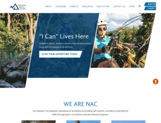 discovernac.org screenshot