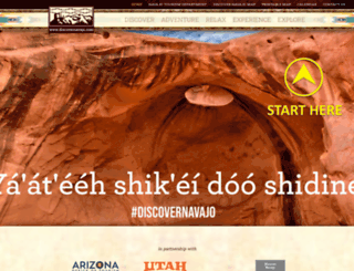 discovernavajo.com screenshot