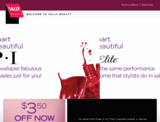 discoversallybeauty.com screenshot