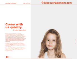 discoversatanism.com screenshot