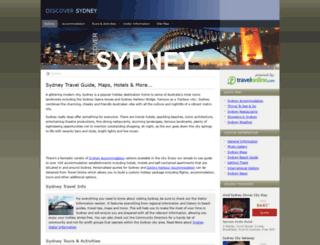 discoversydney.com.au screenshot