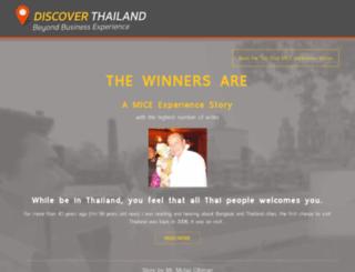 discoverthailand.businesseventsthailand.com screenshot