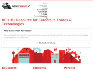 discovertradesbc.ca screenshot