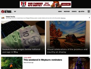 discoverweyburn.com screenshot