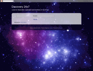 discovery24x7.blogspot.com screenshot
