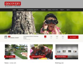 discoverycc.com screenshot
