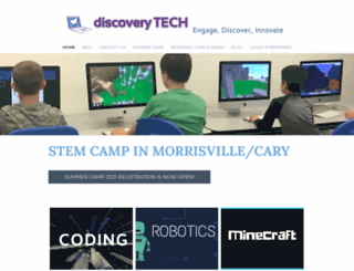 discoverycdtech.com screenshot