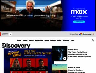discoverychannel.com screenshot