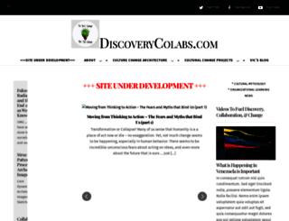 discoverycolabs.com screenshot