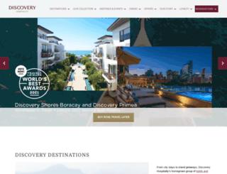 discoveryhotels-resorts.com screenshot