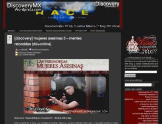 discoverymx.wordpress.com screenshot