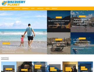 discoveryplanet.pl screenshot
