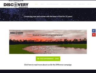 discoveryweekends.org screenshot