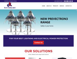 discretetechnology.com screenshot