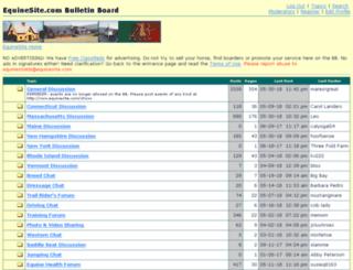 discus.equinesite.com screenshot