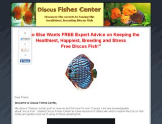 discusfishescenter.com screenshot