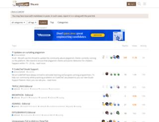 discuss.codechef.com screenshot