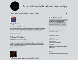 discussingdesign.com screenshot
